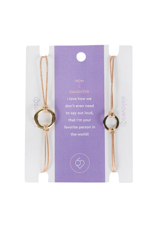 Mom & Daughter Bracelet Set