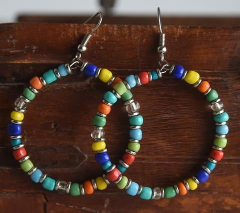 Rangi Kioo Hoop Earrings