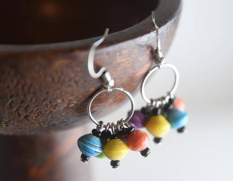 Rainbow Katoga Earrings