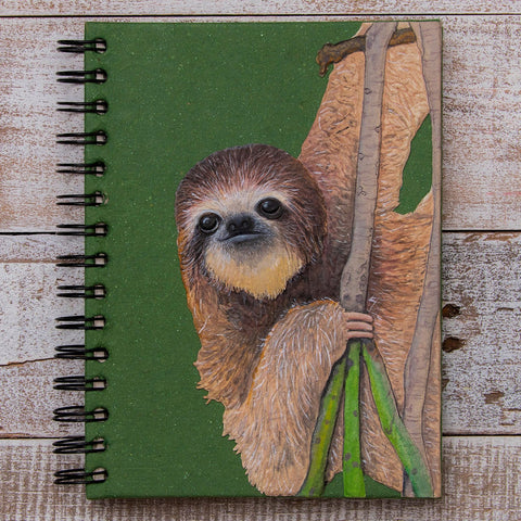 Large Notebook Three-Toed Sloth