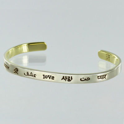 Love in Many Languages Bracelet