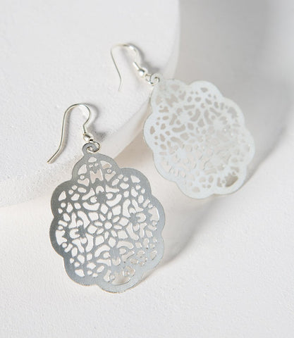 Viti Earrings Silver