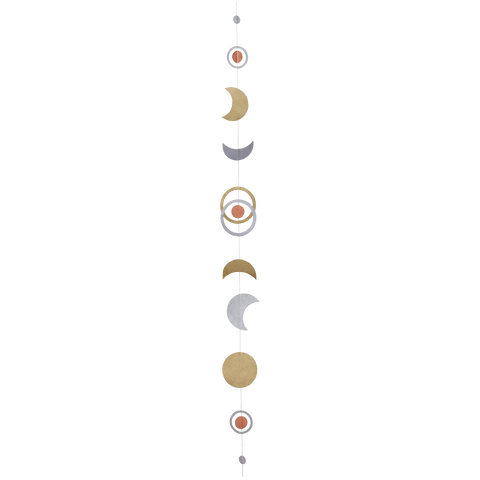 Moon Phase Paper Garland