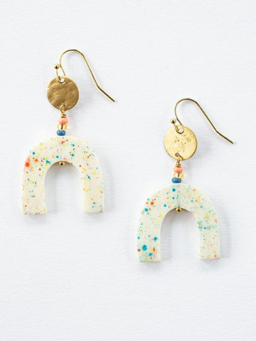 Amelia Speckle Earrings