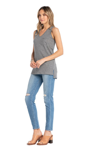 On The Go Tunic Classic Grey