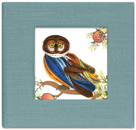 Owl Sticky Notebook Cover
