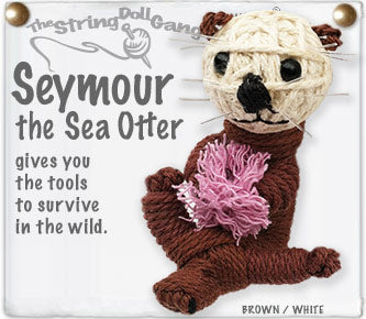 Seymour the Sea Otter Keychain