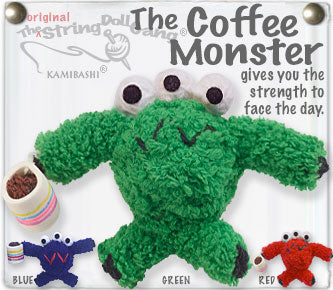 The Coffee Monster Keychain
