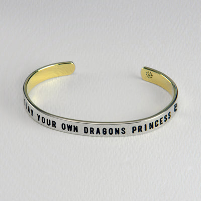 Slay Your Own Dragons Princess Bracelet