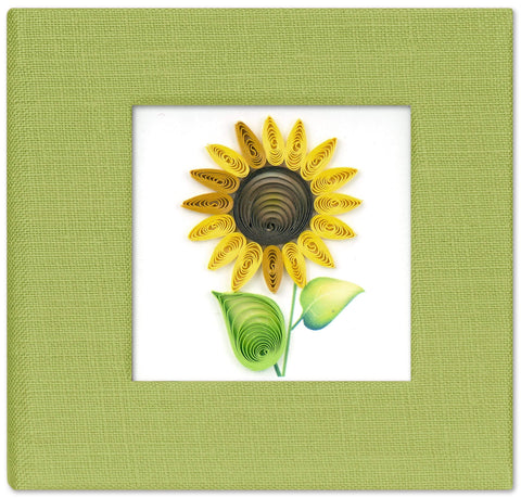 Sunflower Sticky Notebook Cover