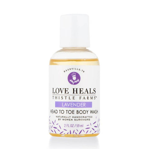 Travel Head To Toe Body Wash - Lavender