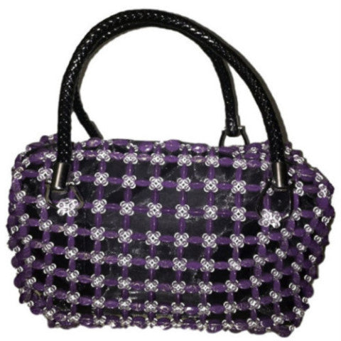Purple, Gold and Clear Doctor Bag