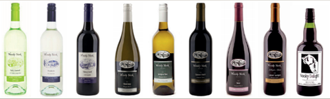 Woody Nook Wines available in UK
