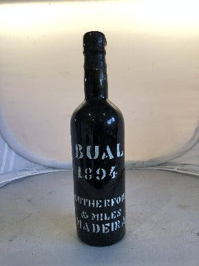 Rutherford and Miles 1894 Bual Madeira - MWH Wines
