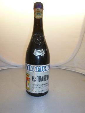 1958 Barbaresco Mirafiore