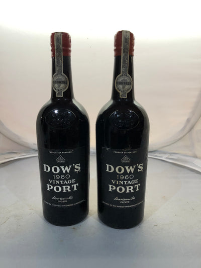 Dow 1960 Vintage Port (Mid Shoulder)