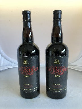 Cavendish 1963 Vintage Port - MWH Wines