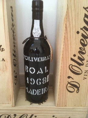D'Oliveira 1968 Bual Madeira - MWH Wines