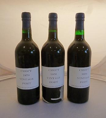 Croft 1970 Vintage Port - MWH Wines