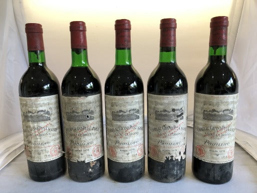 Chateau Grand Puy Lacoste 1976