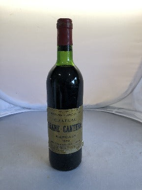 Chateau Brane Cantenac 1978 - MWH Wines