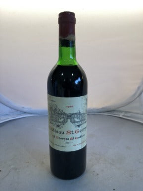 Chateau St Georges 1978