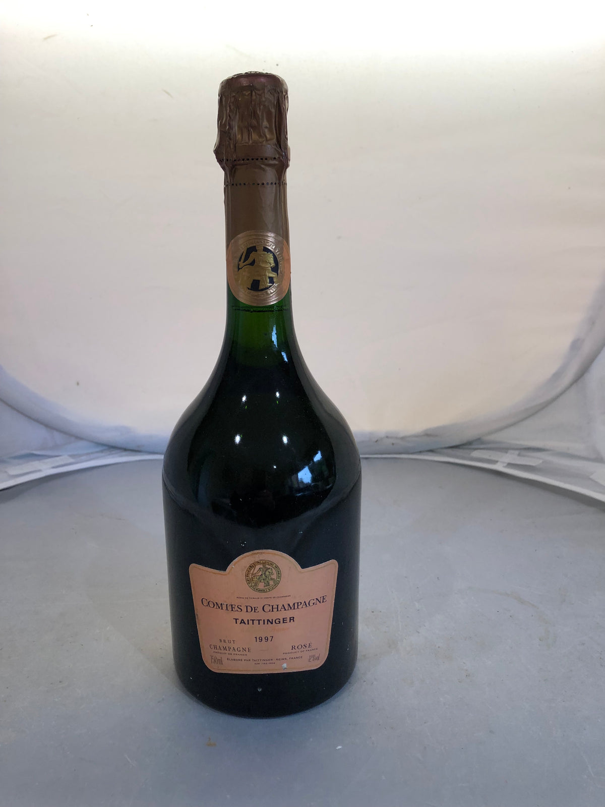 Taittinger Comtes de Champagne Rose 1997 - MWH Wines