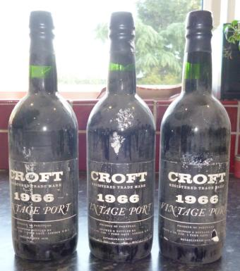 Croft 1966 Vintage Port - MWH Wines