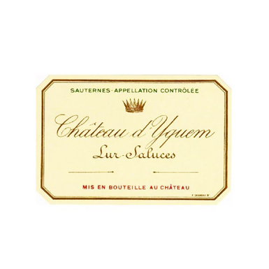 Chateau d'Yquem 1989 - Bottle