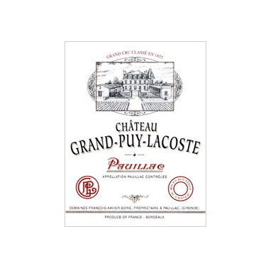 Chateau Grand Puy Lacoste 1986 - MWH Wines