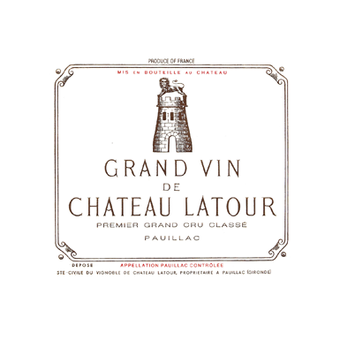 Chateau Latour 1953 - Mid Shoulder - MWH Wines