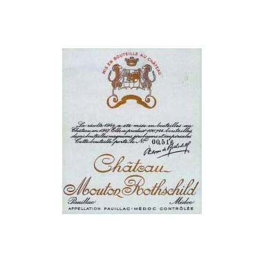 Chateau Mouton Rothschild 1934 - MWH Wines