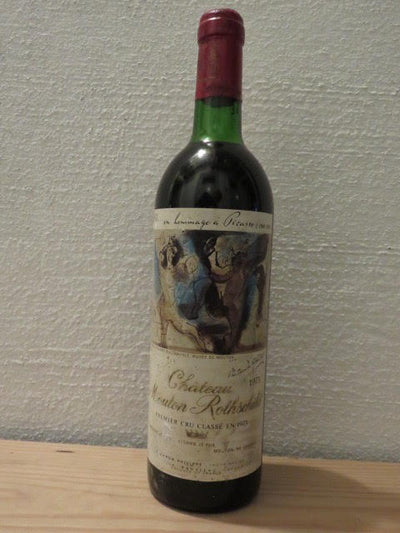 Chateau Mouton Rothschild 1973 - MWH Wines