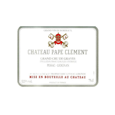 Chateau Pape Clement Blanc 2006 - MWH Wines