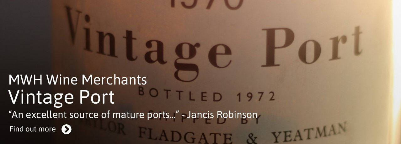 Vintage Port from MWH Wine Merchants