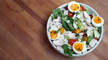 Summer Cobb Salad (Paleo, Keto Friendly, Whole30 Approved, Gluten-Free)