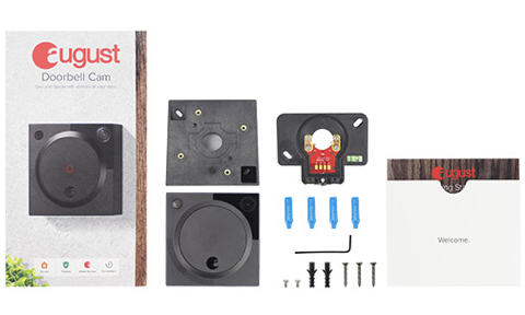 August Doorbell Cam What's Included in the Box