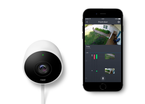 Nest Cam Outdoor Sightline