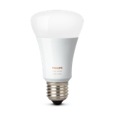 Philips Hue White and Color Ambiance A19 Single Bulb Image