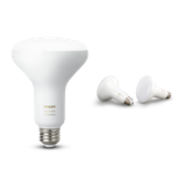 Philips Hue White Ambiance BR30 Single and Two-pack Bulb Image