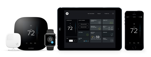 The ecobee Wi-Fi Thermostat Family