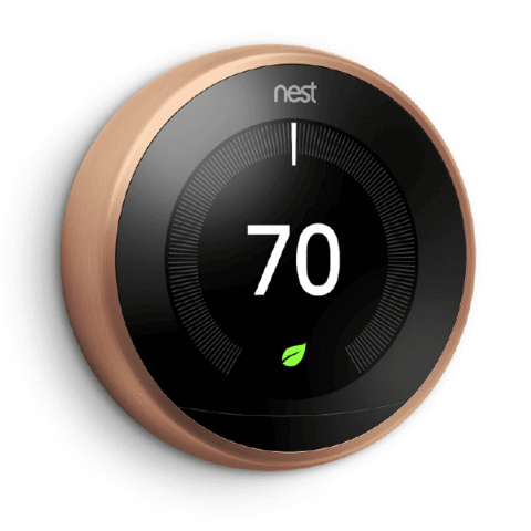 3rd Gen Nest Leaning Thermostat + Habitat For Humanity image 4674139947080
