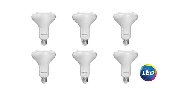 Philips 65-Watt Equivalent Daylight BR-30 LED (6-Pack) image 18395298632