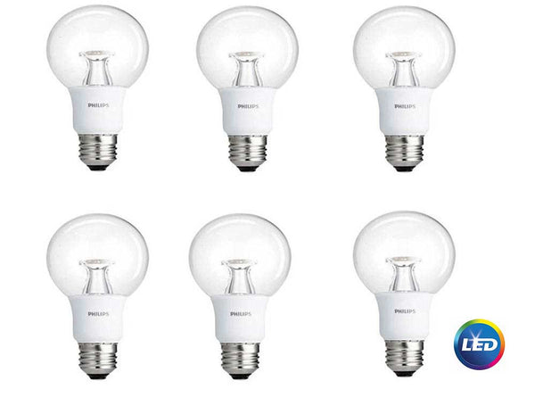 Philips 40-Watt Equivalent Warm/Soft White LED Globe (6-Pack) image 18405898248