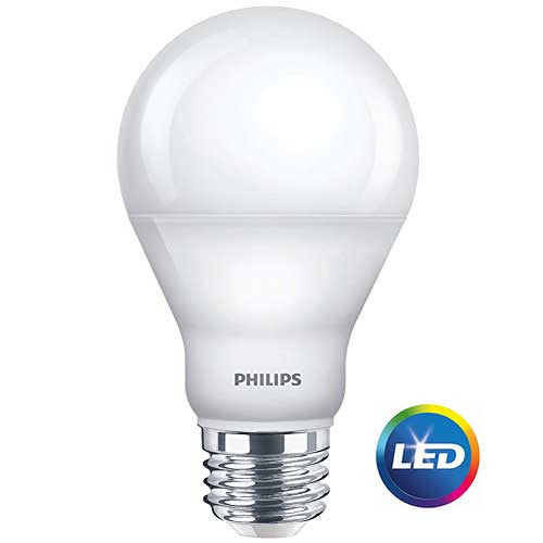 Philips 60-Watt Equivalent Bright White A-19 LED (6-Pack) image 18439955016