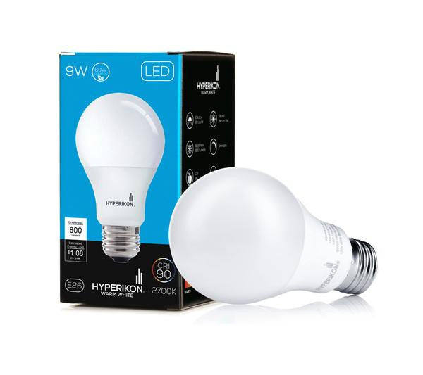 Hyperikon A19-E26 Dimmable LED Bulb 9W image 17287812872