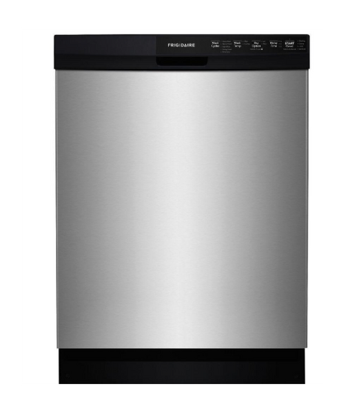 "FRIGIDAIRE 24"" STAINLESS STEEL FULL CONSOLE DISHWASHER - ENERGY STAR"
