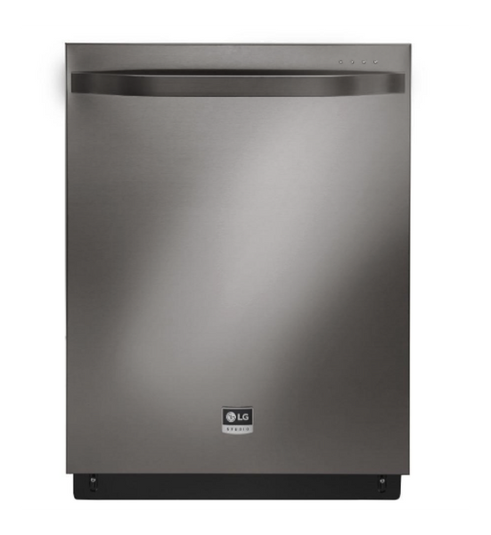 "LG STUDIO 24"" BLACK STAINLESS STEEL FULLY INTEGRATED DISHWASHER - ENERGY STAR"
