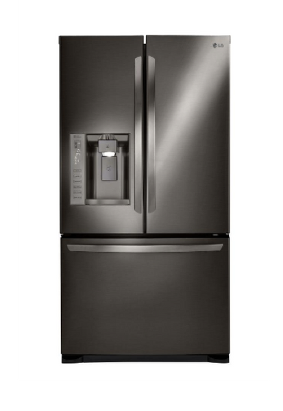 LG 24.1 CU. FT. BLACK STAINLESS STEEL FRENCH DOOR REFRIGERATOR - ENERGY STAR image 23148888456