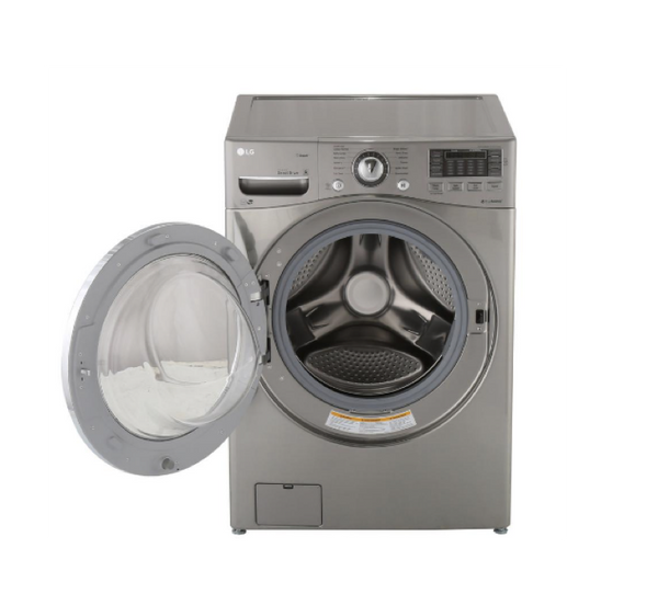 LG 4.5 CU. FT. GRAPHITE STEEL WITH STEAM CYCLE FRONT LOAD WASHER - ENERGY STAR image 23179077128